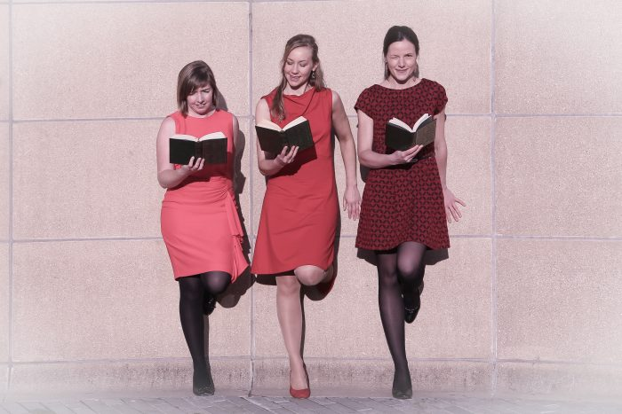This is how we read: Barbara, Katrien & Eveline